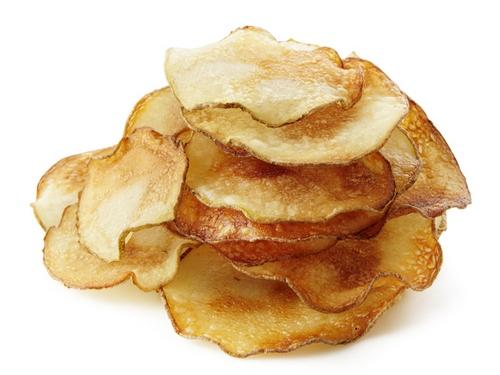Фото Картофельные чипсы с чесноком