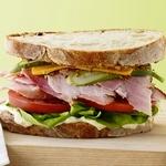 Классические сэндвичи с ветчиной