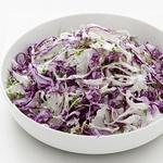 Салат с краснокочанной капустой и фенхелем