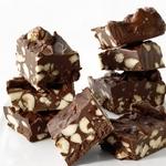 Шоколадный ирис с орехами