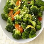 Лимонная капуста брокколи с морковью