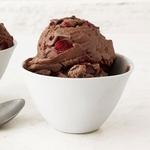 Домашнее шоколадно-вишневое мороженое