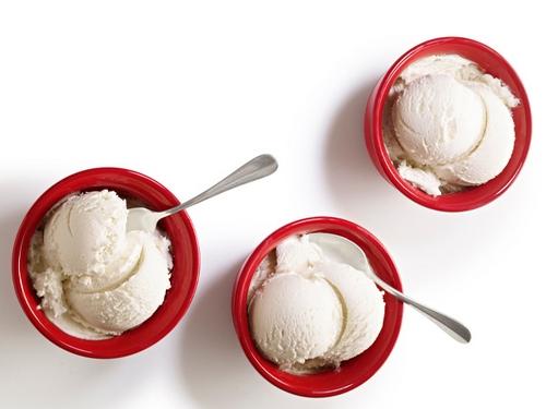 Коричное мороженое
