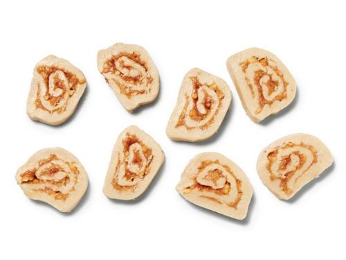 Фото Арахисовые рулеты из картофельного пюре