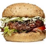 Гамбургеры с авокадо и зеленью
