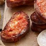 Тосты с помидорами и чесноком