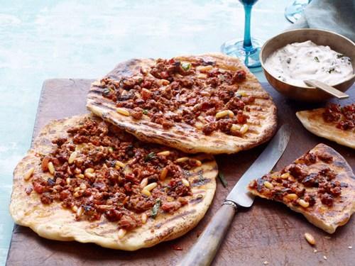 Пицца с бараньим фаршем