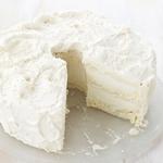 Ванильный торт-мороженое с кремом на солодовом молоке