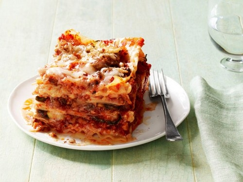 Лазанья с итальянскими колбасками