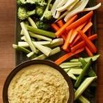 Кремовый овощной дип-соус