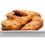 Запеченные куриные грудки в сырной панировке