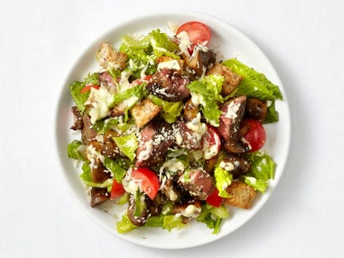 тёплый салат с телятиной рецепт с фото