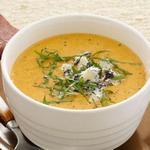 Томатный суп-пюре с голубым сыром
