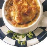 Французский луковый крем суп