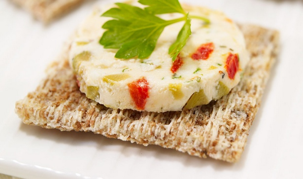 Фото Террин из сыра с овощами