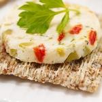 Террин из сыра с овощами