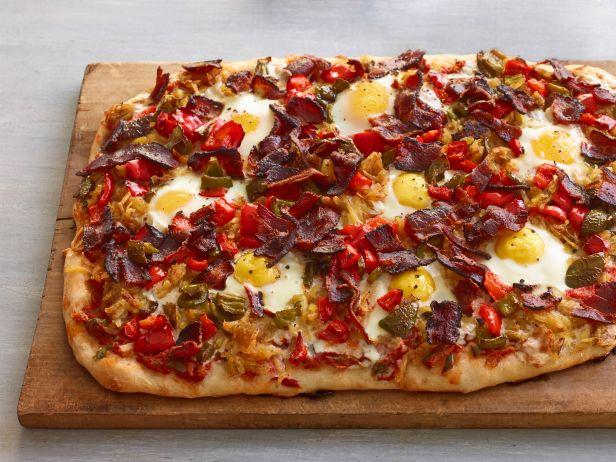 Фото Пицца для завтрака