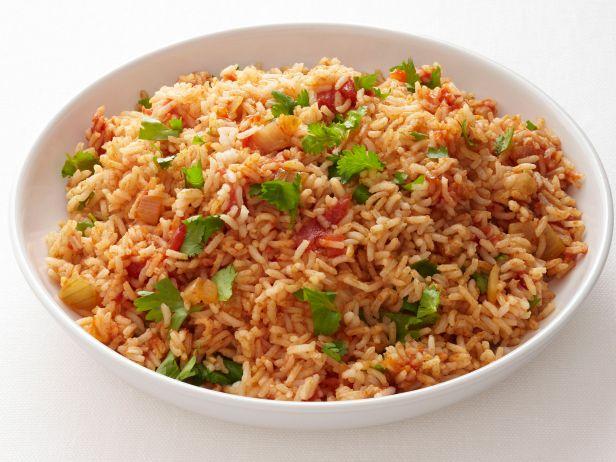 Пряный рис по-мексикански
