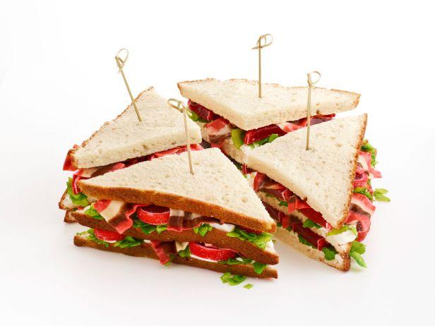 Пирожные «Клаб сэндвич»