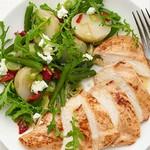 Курица с теплым картофельным салатом