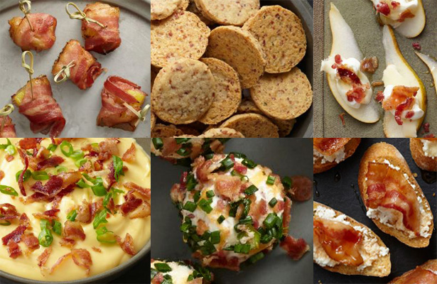 Фото 50 рецептов закусок с беконом