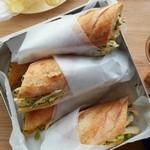 Сэндвичи с куриным салатом