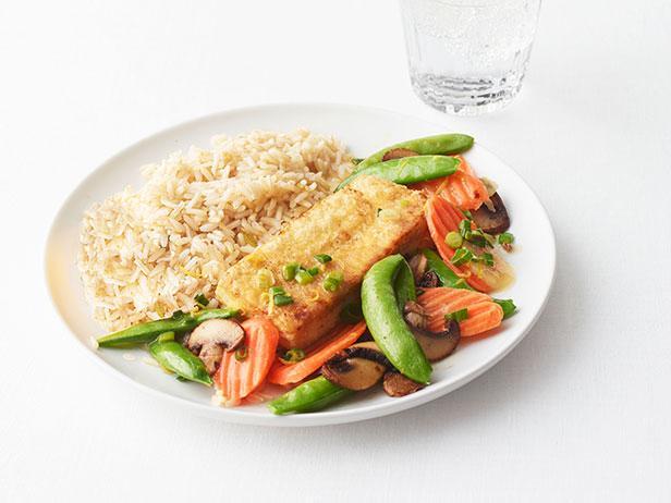 Фото Жареный тофу с овощами