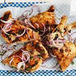Копченый имбирный цыпленок с кардамоном, гвоздикой и корицей