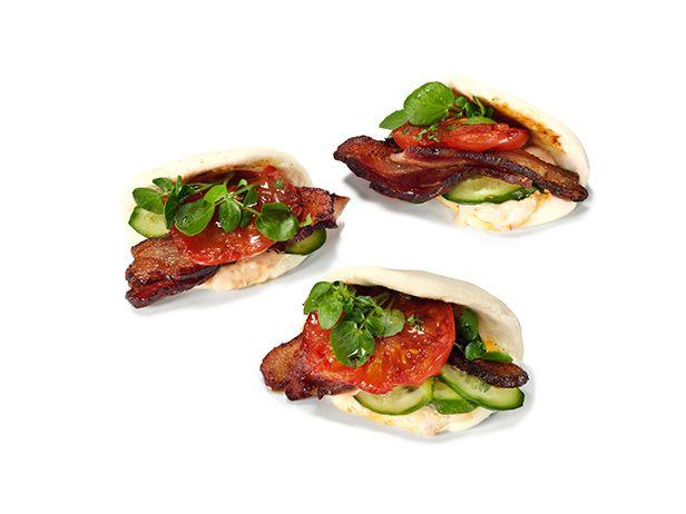 Классические сэндвичи по-азиатски с майонезом чили