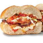 Сэндвичи по-мексикански с острой сальсой