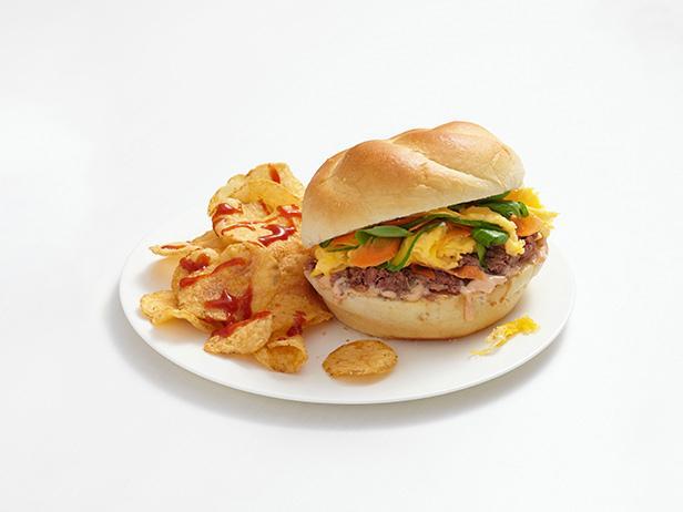 Сэндвичи с яйцами по-вьетнамски