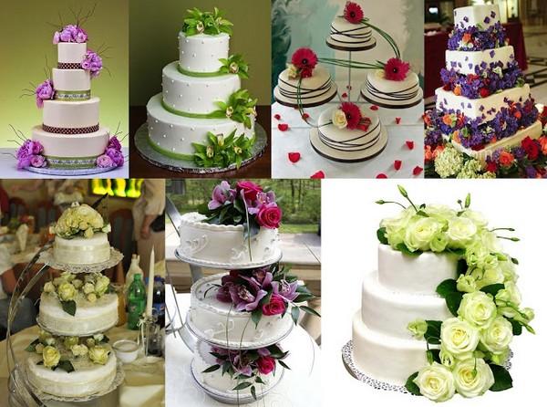 Фотографии с оформлением тортов