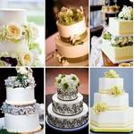Оформление тортов свежими цветами