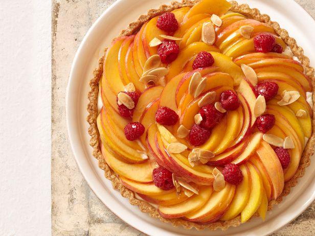 Миндальный тарт «Персик Мельба»