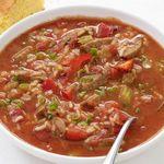 Суп джамбалайя