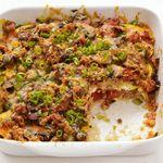 Кассероле со свининой и кабачками