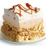 Солено-сладкие пирожные с кремом дольче де лече