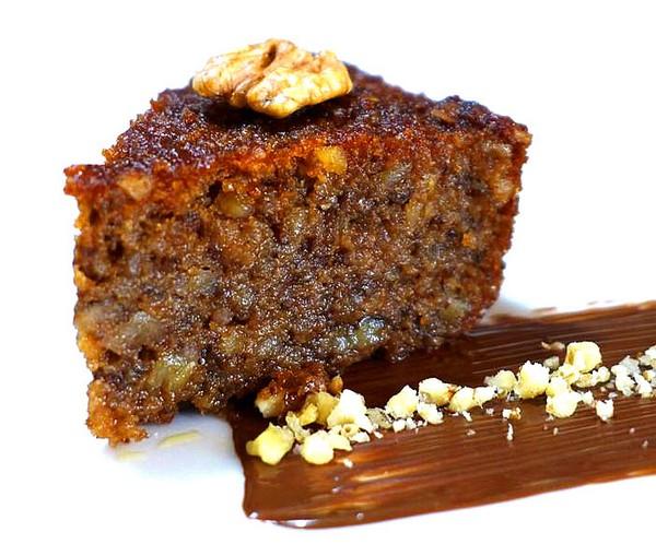 Каридопита (Karidopita) - греческий ореховый пирог с сиропом