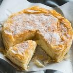 Бугаца (Bougatsa) - греческий пирог с заварным кремом