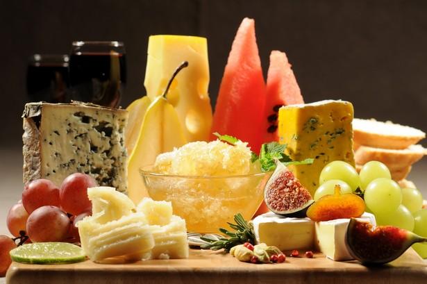 Сочетание сыра с фруктами