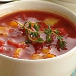 Суп из сладких перцев