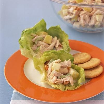 Салат с дыней и зеленью