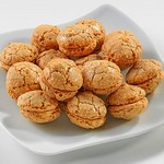 Турецкое миндальное печенье - Аджибадем курабье (AciBadem Kurabiyesi)