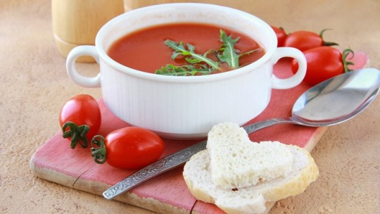 Суп «Дракула»