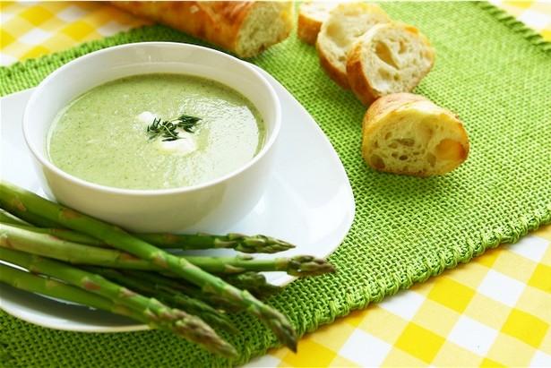 Фото Крем-суп из спаржи