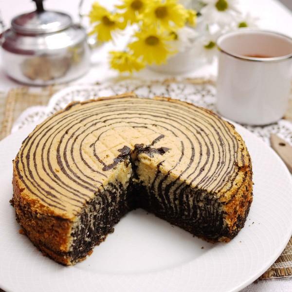 Торт «Зебра» в мультиварке