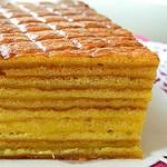 Индонезийский слоистый торт Кек ляпис (Kek lapis)