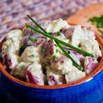 Картофельный салат с пряностями