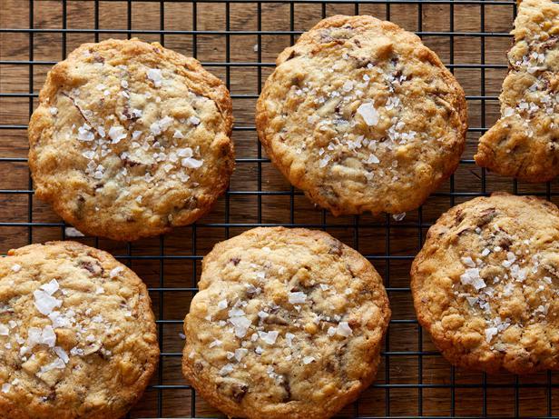 Супер вкусное овсяное печенье с кусочками шоколада