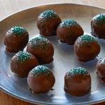 Мятные шоколадные трюфели